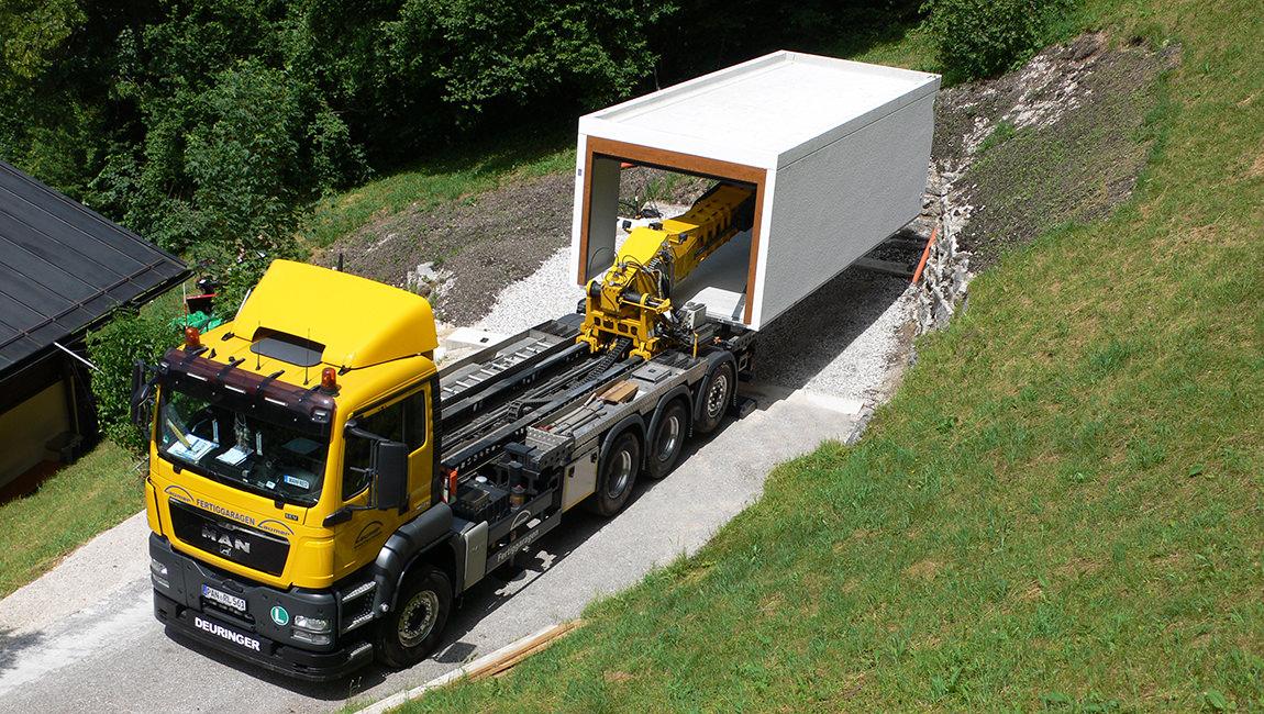 Garagentypen - Garagen bauen ohne Baustelle - Laumer